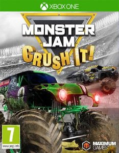 Monster Jam Crush It! Xbox One Código de Resgate 25 Dígitos