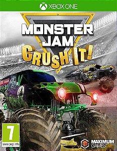 Monster Jam Crush It! Xbox One Código de Resgate 25 Dígitos