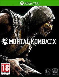 Mortal Kombat X 10  Xbox One Código de Resgate 25 Dígitos