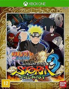 NARUTO SHIPPUDEN Ultimate Ninja STORM 3 Full Burst Xbox One Código de Resgate 25 Dígitos
