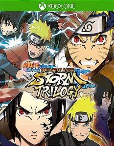 NARUTO SHIPPUDEN Ultimate Ninja STORM Trilogy XBOX ONE Código de Resgate 25 Dígitos