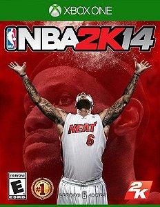 NBA 2K14  Xbox One Código de Resgate 25 Dígitos