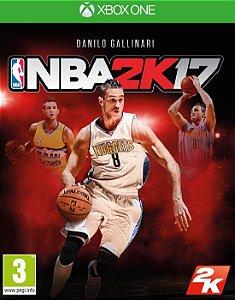NBA 2K17  Xbox One Código de Resgate 25 Dígitos