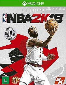 NBA 2K18 Xbox One Código de Resgate 25 Dígitos