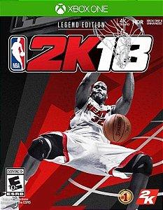 NBA 2K18 Legend Edition Xbox One Código de Resgate 25 Dígitos