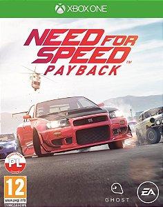 Need for Speed Payback Xbox One Código de Resgate 25 Dígitos