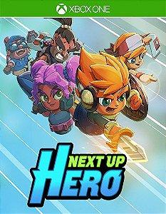 Next Up Hero Xbox One Código de Resgate 25 Dígitos