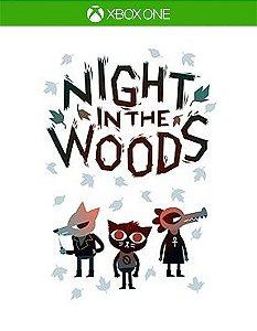 Night in the Woods Xbox One Código de Resgate 25 Dígitos