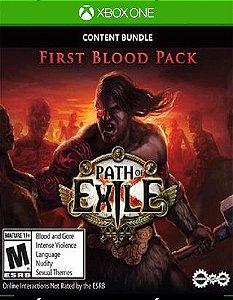 Path of Exile First Blood Bundle Xbox One Código 25 Dígitos