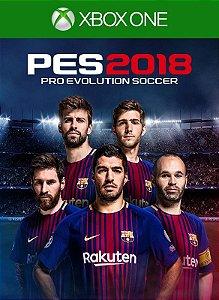Pro Evolution Soccer 2018 PES 18  Xbox One Código 25 Dígitos