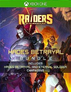 Raiders of the Broken Planet - Hades Betrayal Bundle Xbox One Código 25 Dígitos