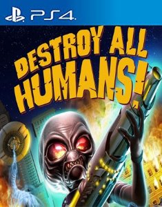 Destroy All Humans! PS4 PSN Mídia Digital