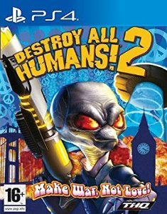 Destroy All Humans! 2 PS4 PSN Mídia Digital