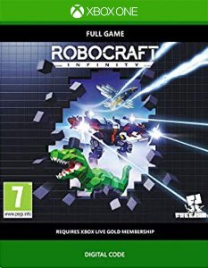 Robocraft Infinity Xbox One Código 25 Dígitos