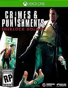 Sherlock Holmes: Crimes and Punishments Xbox One Código 25 Dígitos