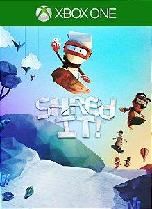 Shred It! Xbox One Código 25 Dígitos