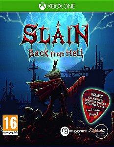 Slain Back From Hell  Xbox One Código 25 Dígitos