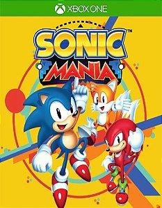 Sonic Mania Xbox One Código 25 Dígitos