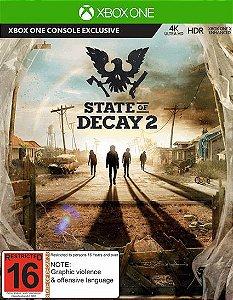 State Of Decay 2 Xbox One Código 25 Dígitos