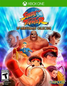 Street Fighter 30th Anniversary Collection  Xbox One Código 25 Dígitos