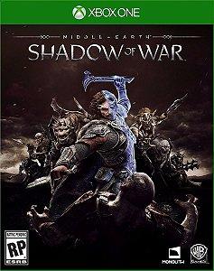 Terra-média Sombras da Guerra Xbox One Código 25 Dígitos