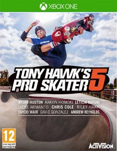 Tony Hawk's Pro Skater 5  Xbox One Código 25 Dígitos