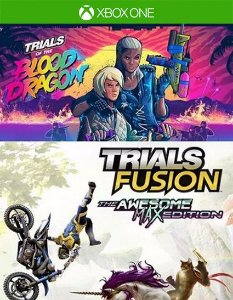 The Blood Dragon + Trials Fusion Awesome Max  Xbox One Código 25 Dígitos