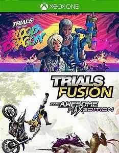 The Blood Dragon + Trials Fusion Awesome Max  Xbox One Código 25 Dígitos