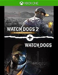 Watch Dogs 1 + Watch Dogs 2 Gold Editions Bundle  Xbox One Código 25 Dígitos