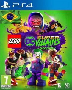 LEGO DC Super-Vilões / Super-Villains  PS4 PSN Mídia Digital