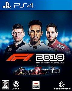 F1 2018  PS4 PSN Mídia Digital