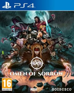 Omen of Sorrow PS4 PSN Mídia Digital