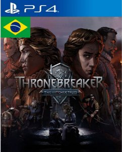 Thronebreaker The Witcher Tales PS4 PSN Mídia Digital