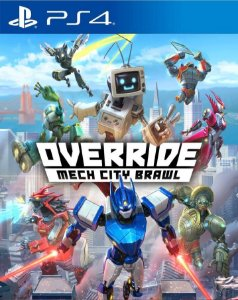 Override Mech City Brawl PS4 PSN Mídia Digital