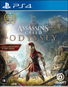 Assassin's Creed Odyssey PS4 PSN Mídia Digital