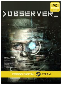 >observer Steam CD Key Pc Steam Código De Resgate Digital
