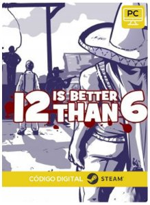 12 is Better Than 6 Steam  CD Key Pc Steam Código De Resgate Digital
