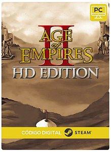 Age of Empires II HD Steam Gift  Steam CD Key Pc Steam Código De Resgate Digital