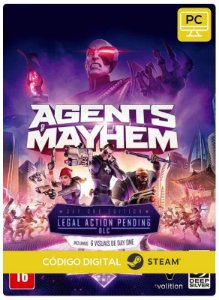 Agents of Mayhem Day One Edition   Steam CD Key Pc Steam Código De Resgate Digital