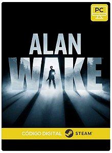 Alan Wake  Steam CD Key Pc Steam Código De Resgate Digital