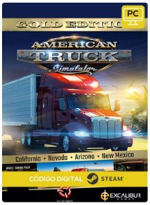 American Truck Simulator Gold Edition Steam CD Key Pc Código De Resgate Digital