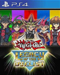 Yu-Gi-Oh! Legacy of the Duelist PS4 PSN Mídia Digital