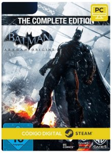 Batman Arkham Origins complete edition Steam Código De Resgate Digital