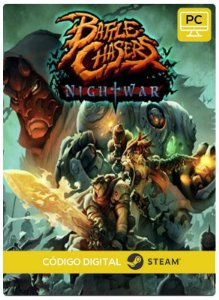 Battle Chasers: Nightwar  Steam CD key PC Código De Resgate Digital