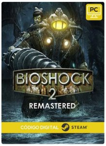 BioShock 2 Remastered  Steam CD key PC Código De Resgate Digital