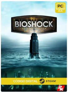BioShock: The Collection Steam CD key PC Código De Resgate Digital