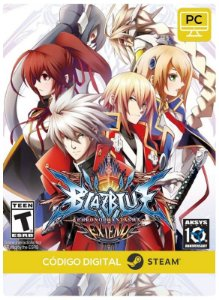 Blazblue Chronophantasma Extend Steam CD key PC Código De Resgate Digital