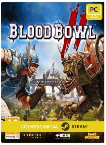 Blood Bowl 2 Steam CD key PC Código De Resgate Digital