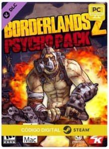 Borderlands 2 Psycho Pack DLC Steam CD key PC Código De Resgate Digital