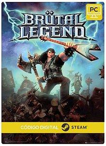 Brutal Legend  Steam CD key PC Código De Resgate Digital